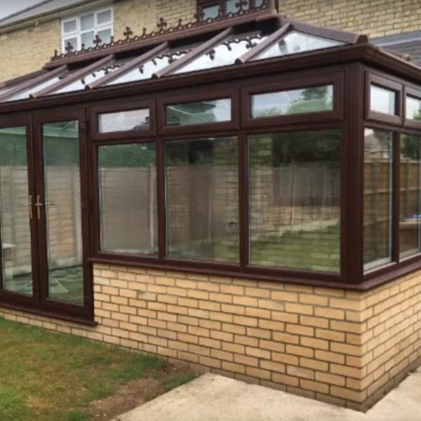 See a Falcon Ipswich conservatory built before your very eyes